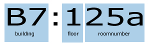 How a room number is built